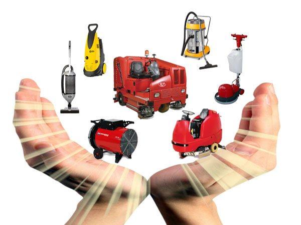 Vendita, Noleggio e Assistenza Macchine Pulizia Industriale